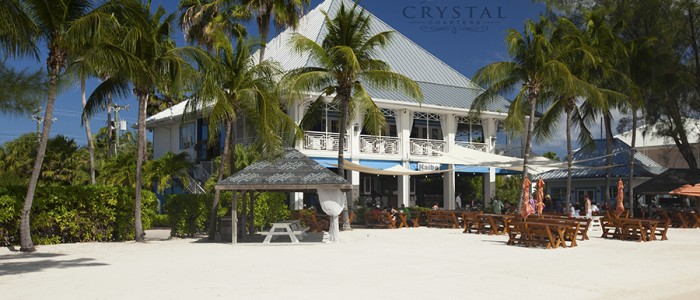 Rum Point Restaurant Hot Spot for Crystal Charters